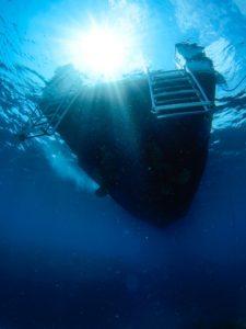 徳島のデートスポット 海中観光船ブルーマリン